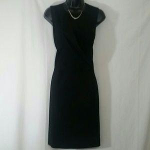 THEORY Black Sleeveless Dress Size 4